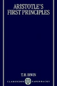 Ebook in inglese Aristotle's First Principles -, -