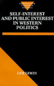 Ebook in inglese Self Interest and Public Interest in Western Politics BrontAÂ«, Anne