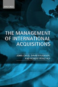 Ebook in inglese Management of International Acquisitions Child, John , Faulkner, David , Pitkethly, Robert