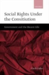 Social Rights Under the Constitution: Government and the Decent Life
