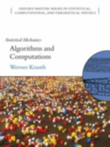 Ebook in inglese Statistical Mechanics: Algorithms and Computations -, -