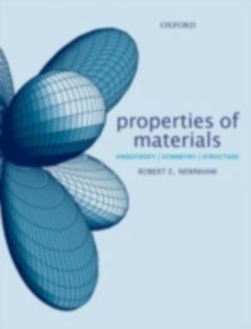 Ebook in inglese Properties of Materials: Anisotropy, Symmetry, Structure Newnham, Robert E.