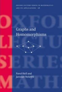 Ebook in inglese Graphs and Homomorphisms Hell, Pavol , Nesetril, Jaroslav