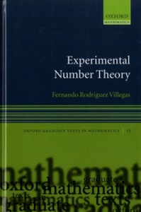 Ebook in inglese Experimental Number Theory Villegas, Fernando Rodriguez