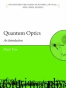 Ebook in inglese Quantum Optics: An Introduction Fox, Mark