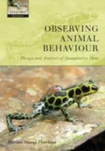 Ebook in inglese Observing Animal Behaviour: Design and analysis of quantitative data Stamp Dawkins, Marian