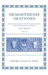 Demosthenis Orationes III