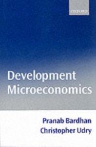 Ebook in inglese Development Microeconomics -, -