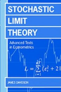 Ebook in inglese Stochastic Limit Theory: An Introduction for Econometricians