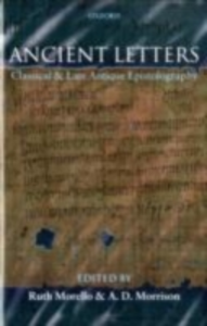 Ebook in inglese Ancient Letters: Classical and Late Antique Epistolography -, -