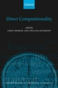 Ebook in inglese Direct Compositionality