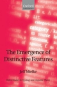 Ebook in inglese Emergence of Distinctive Features Mielke, Jeff