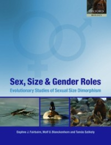 Ebook in inglese Sex, Size and Gender Roles: Evolutionary Studies of Sexual Size Dimorphism -, -