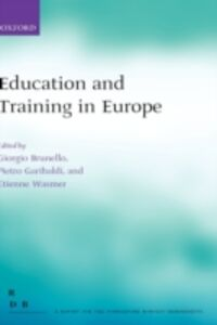 Ebook in inglese Education and Training in Europe -, -