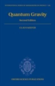 Foto Cover di Quantum Gravity, Ebook inglese di  edito da OUP Oxford