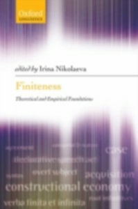 Ebook in inglese Finiteness: Theoretical and Empirical Foundations -, -