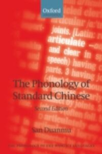 Ebook in inglese Phonology of Standard Chinese Duanmu, San