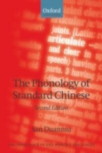 Ebook in inglese Phonology of Standard Chinese Duanmu, San