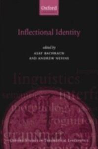 Foto Cover di Inflectional Identity, Ebook inglese di  edito da OUP Oxford
