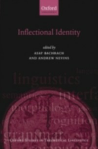 Ebook in inglese Inflectional Identity -, -