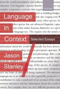 Ebook in inglese Language in Context: Selected Essays Stanley, Jason