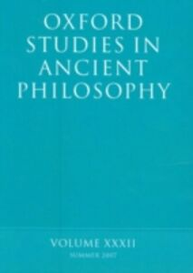 Ebook in inglese Oxford Studies in Ancient Philosophy XXXII: Summer 2007 -, -