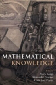 Ebook in inglese Mathematical Knowledge -, -