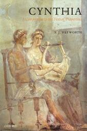Cynthia: A Companion to the Text of Propertius