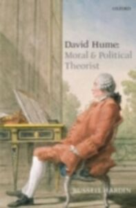 Foto Cover di David Hume, Ebook inglese di Russell Hardin, edito da Oxford University Press, UK