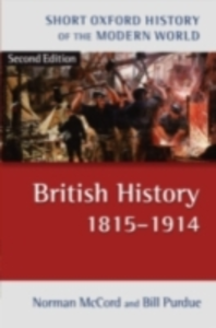 Ebook in inglese British History 1815-1914 McCord, Norman , Purdue, Bill