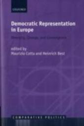 Democratic Representation in Europe: Diversity, Change, and Convergence