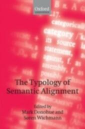 Typology of Semantic Alignment