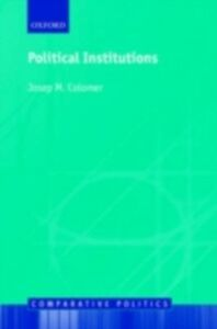 Ebook in inglese Political Institutions Democracy and Social Choice H, COLOMER JOSEP