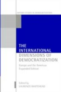 Ebook in inglese International Dimensions of Democratization: Europe and the Americas