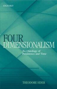 Foto Cover di Four-Dimensionalism: An Ontology of Persistence and Time, Ebook inglese di Theodore Sider, edito da Clarendon Press