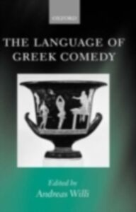 Ebook in inglese Language of Greek Comedy -, -
