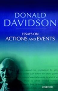 Ebook in inglese Essays on Actions and Events: Philosophical Essays Volume 1 Davidson, Donald