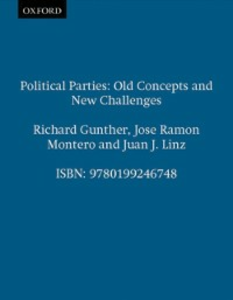 Ebook in inglese Political Parties: Old Concepts and New Challenges -, -