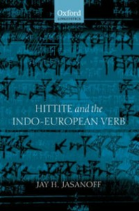 Ebook in inglese Hittite and the Indo-European Verb Jasanoff, Jay H.