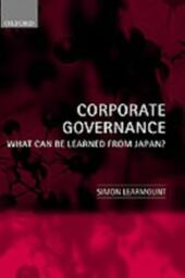 Corporate Governance: What Can Be Learned From Japan?