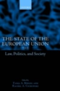 Ebook in inglese State of the European Union, 6: Law, Politics, and Society