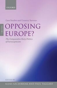 Ebook in inglese Opposing Europe? SZCZE, TAGGART ALEKS