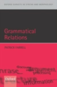 Ebook in inglese Grammatical Relations Farrell, Patrick