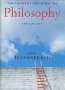 Foto Cover di Oxford Companion to Philosophy, Ebook inglese di  edito da OUP Oxford