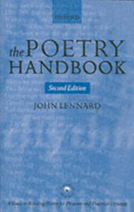 Ebook in inglese Poetry Handbook Lennard, John