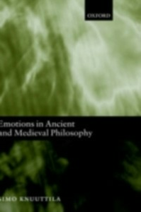 Ebook in inglese Emotions in Ancient and Medieval Philosophy Knuuttila, Simo