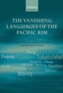 Ebook in inglese Vanishing Languages of the Pacific Rim -, -