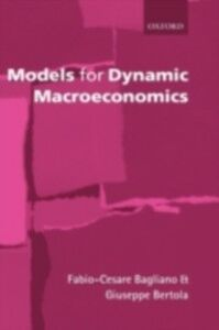 Ebook in inglese Models for Dynamic Macroeconomics Bagliano, Fabio-Cesare , Bertola, Giuseppe