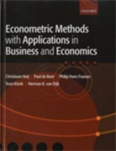 Foto Cover di Econometric Methods with Applications in Business and Economics, Ebook inglese di AA.VV edito da OUP Oxford