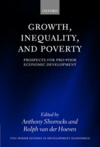 Ebook in inglese Growth, Inequality, and Poverty: Prospects for Pro-poor Economic Development -, -